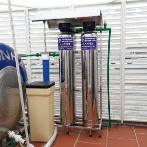 Hệ thống lọc nước tổng biệt thự giá rẻ, tong kho nguyen nham