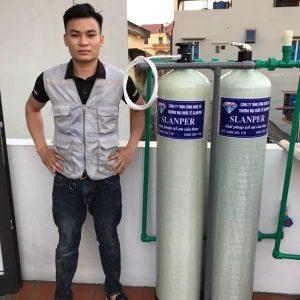 Hệ thống lọc nước sinh hoạt hỗn hợp tổng kho nguyễn nhâm, nhà sản xuất vật liệu lọc nước