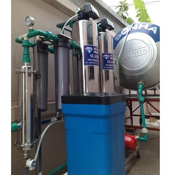 slp.hh221plus Máy lọc nước tổng có màng UF Slanper